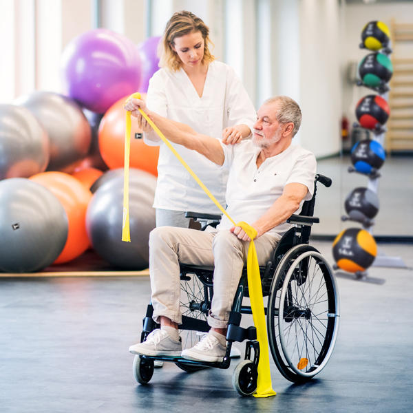 Body-Solid tools in rehab centre