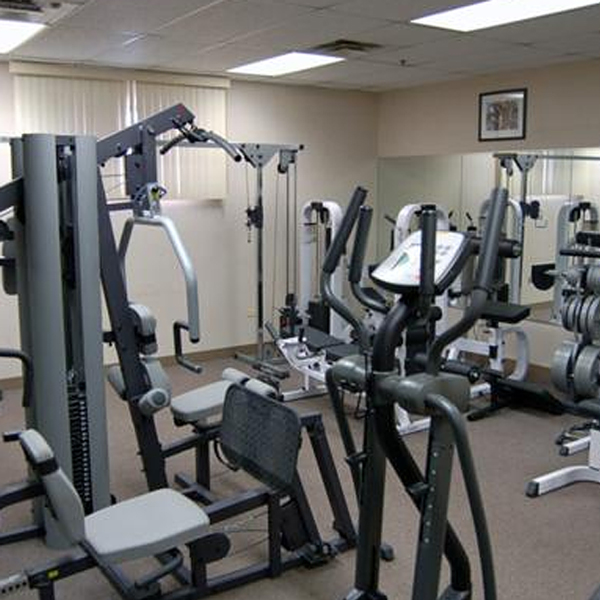 Gym at the Government